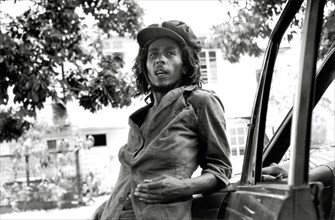 Bob Marley, circa 1979. Publicity photo for Live Album 'Live Forever'.  File Reference # 31386_994