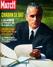 Frontpage of French news and people magazine Paris-Match, n° , , 197, France