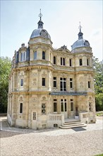 Le Port-Marly, France - June 24, 2018: The Chateau de Monte-Cristo (architect Hippolyte Durand) is a house museum of the writer Alexandre Dumas