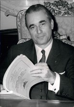Jun. 17, 1969 - Next Friday, Georges Pompidou, the new President of France, will be officially inaugurated and moved into the Elysee Palace. He will only reveal the name of his Prime Minister then, bu...