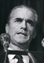 Jun. 26, 1970 - Mr Jacques Chaban-Delmas,French Prime Minister