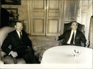 Apr. 06, 1972 - Kurt Waldheim, Chaban Delmas