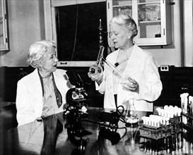 Hazen and Brown, American Bacteriologists