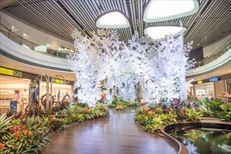 Singapore Changi Airport Terminal 4 newly open