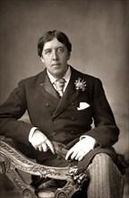 Oscar Wilde portrait, c.1890