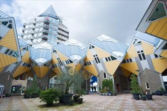 Rotterdam cube house in Blaak district