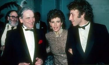 Pierre Cardin Raquel Welch & husband Andre Weinstein 1982 Photo By John Barrett/PHOTOlink.net