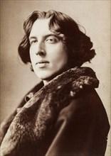 Oscar Wilde, portrait photograph, Napoleon Sarony, 1882