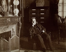 Louis Pasteur in his sitting room. Louis Pasteur (December 27, 1822 - September 28, 1895) was a French chemist and bacteriologist who founded the science of microbiology. Pasture discovered that disea...