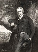EDWARD JENNER (1749-1823) English physician and smallpox vaccine pioneer