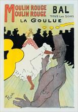 La Goulue and Valentin le Desossee, 1891