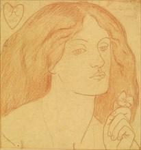 Regina Cordium (The Queen of Hearts), 1860