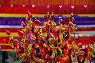 Chinese New Year Celebrations in Thanon Yaowarat, the main thoroughfare which threads through Bangkok's Chinatown