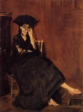 Édouard Manet, Berthe Morisot à l'éventail