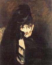 Édouard Manet, Berthe Morisot en deuil