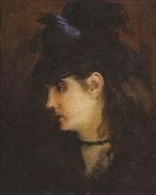 Édouard Manet - Portrait de Berthe Morisot