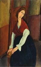 Amedeo Modigliani - Portrait de Jeanne Hébuterne