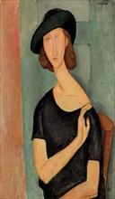 Amedeo Modigliani - Portrait de Jeanne Hébuterne (au Chapeau)