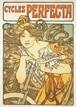 Alfons Mucha - 1902 - Cycles Perfecta.