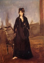 Edouard Manet - Young Woman With Pink Shoe