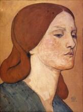 Dante Gabriel Rossetti - Elizabeth Siddal (1850-65).