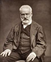 Portrait photograph of Victor Hugo, 1876
