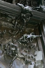 Detail from Auguste Rodin's Gates of Hell