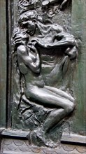 The Kiss detail from The Gates of Hell by Auguste Rodin 1840 1917 France late 19th century