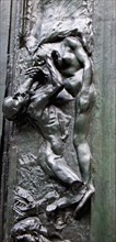Detail from The Gates of Hell by Auguste Rodin 1840 1917 France late 19th century