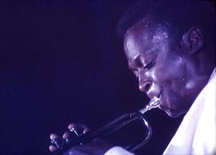 MILES DAVIS US jazz musician in 1965