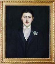 Portrait of Marcel Proust by Jacques-Emile Blanche, Musée d'Orsay (Orsay Museum), Paris, France