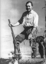 ERNEST HEMINGWAY - US writer (1899-1961)