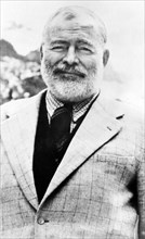 ERNEST HEMINGWAY  (1899-1961) American author and journalist