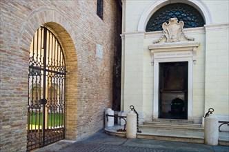 Italy, Ravenna, the Dante Alighieri tomb