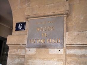 Victor Hugo house in Paris, France, May 9, 2012, © Katharine Andriotis