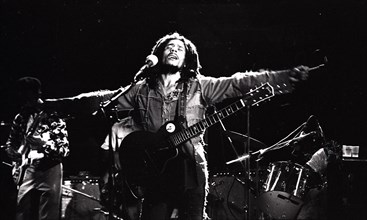 009996 - Bob Marley & The Wailers in concert in the 1970s