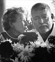 Author Ernest Hemingway with his wife Mary Welsh Hemingway in Cuba
