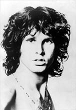 Portrait of The Doors lead singer Jim Morrison
