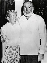 American writer Ernest Hemingway and his wife