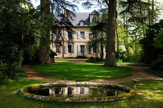 George Sand's house, Nohant-Vic, Indre, France