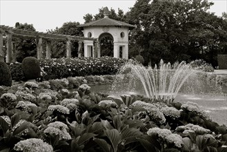 Villa Arnaga, the summer residence of french dramaturgist Edmond Rostand in Cambo-les-Bains