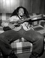 Bob Marley, circa 1979. Publicity photo for Live Album 'Live Forever'.  File Reference # 31386_993