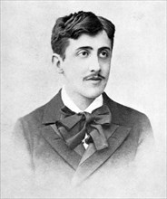 MARCEL PROUST (1871-1922) French novelist about 1890