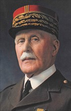PHILIPPE PETAIN (1856-1951) Official photo of the French army Marshal in 1941