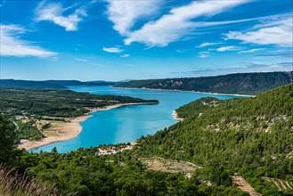 Lake Sainte-Croix, Verdon Gorge, Provence in France