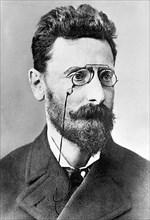 Joseph Pulitzer (1847 – 1911) newspaper publisher of the St. Louis Post-Dispatch and the New York World best known for the Pulitzer Prizes, which were established in 1917