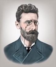 Joseph Pulitzer 1847-1911 Hungarian born American Newspaper Publisher