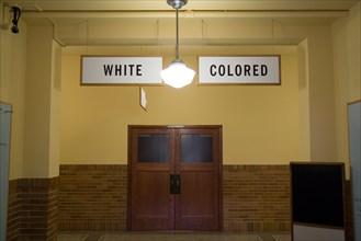 Topeka Kansas KS USA The Brown v Board of Education National Historic Site at Monroe Elementary