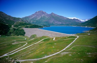 Lac Lake Massif du Mt Mont Cenis French Alps