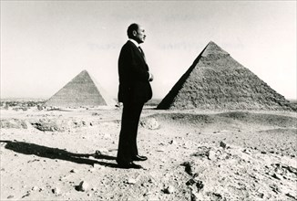 ANWAR SADAT  former President of Egypt
